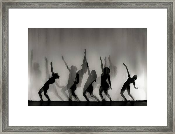 Dance Is The Language Of The Soul ... Framed Print