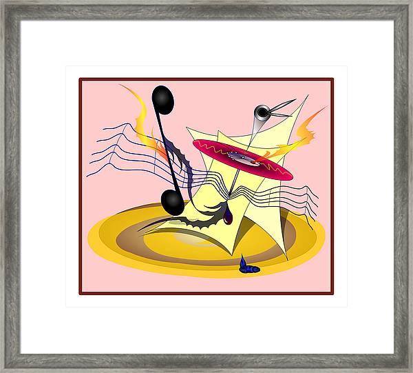 Dance Music Framed Print