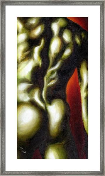 Dancer Two Framed Print