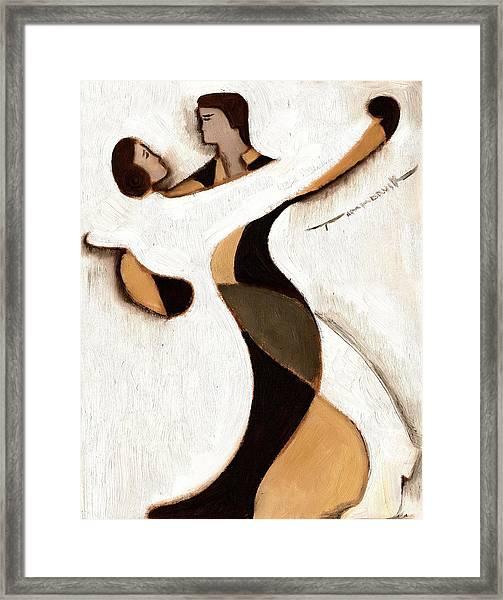 Tommervik Abstract Dancers  Art Print Framed Print
