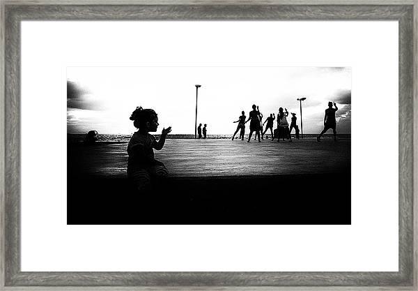 Dances Framed Print by Yuri Shepelev