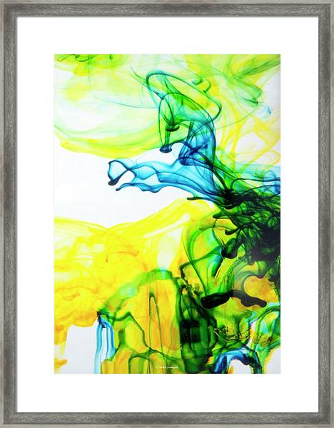 Dancing Horse Framed Print