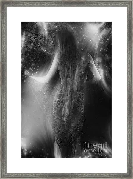 Dancing In The Moonlight... Framed Print