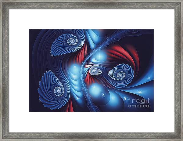 Dancing In The Night Framed Print
