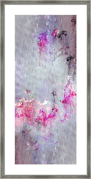 Dancing In The Rain - Abstract Art Framed Print