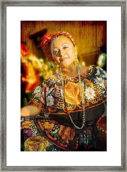 Dancing Lady Framed Print