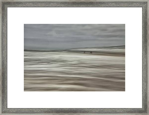 Dancing With Light And Weather ... Framed Print