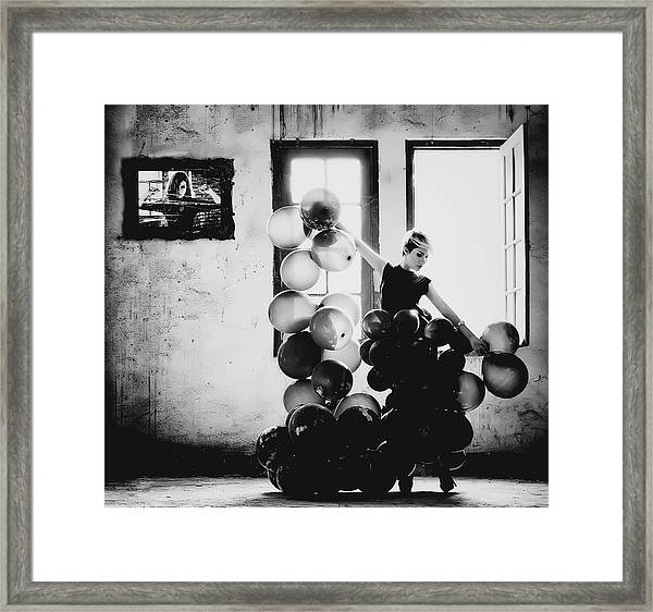Dancing With Loneliness Framed Print