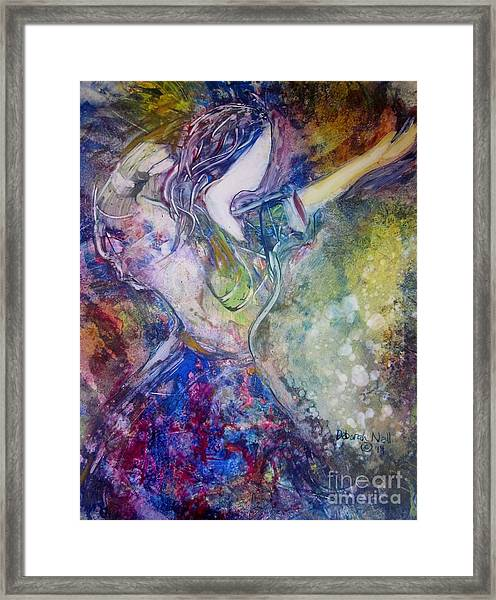 Dancing With The Lord Framed Print