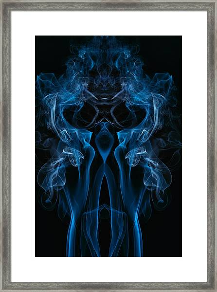 Dark Alien Framed Print