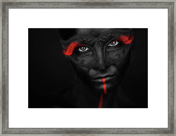 Dark Passion Framed Print
