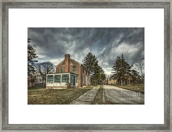 Darkened Days To Come Framed Print