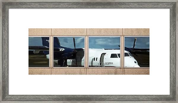 Dash Reflection Framed Print