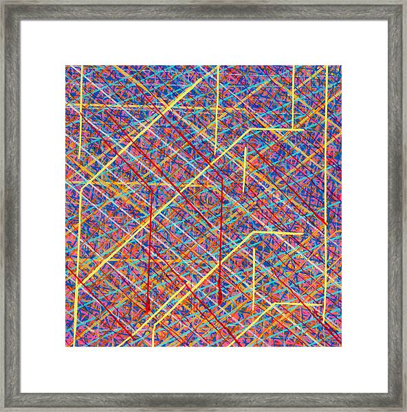 Data Structure Framed Print by Patrick OLeary