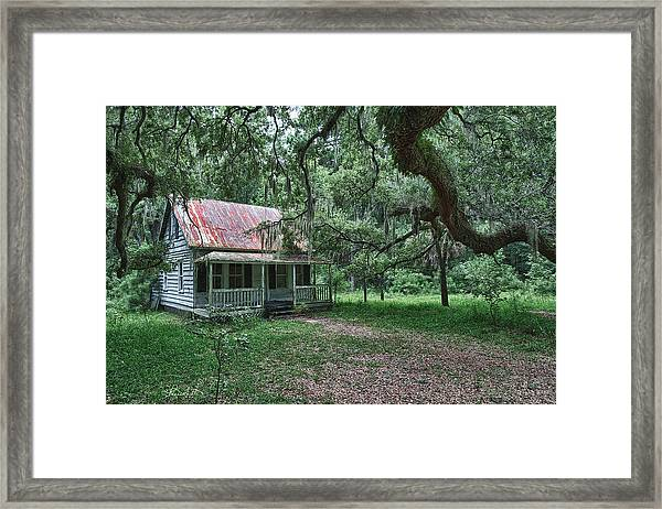 Daufuskie Homestead Framed Print