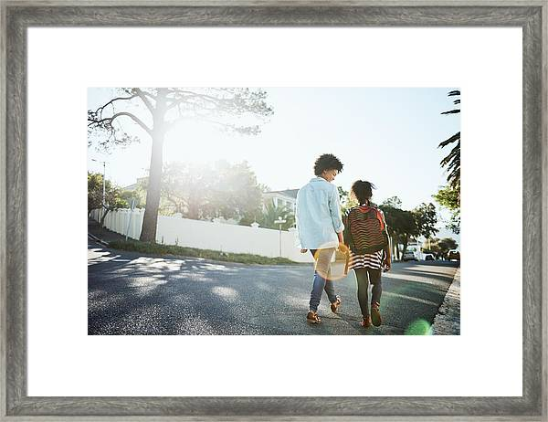 Daughter And Mother Bonding Time Framed Print by Shapecharge