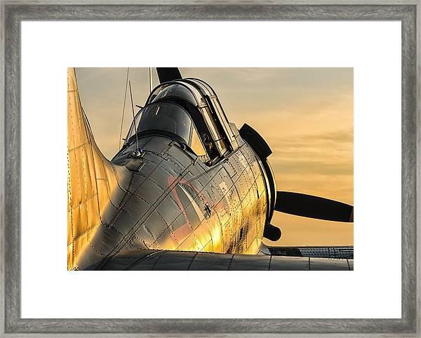 Dauntless At Dusk Framed Print