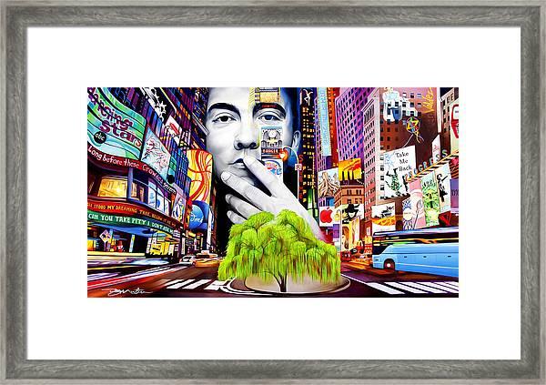 Dave Matthews Dreaming Tree Framed Print