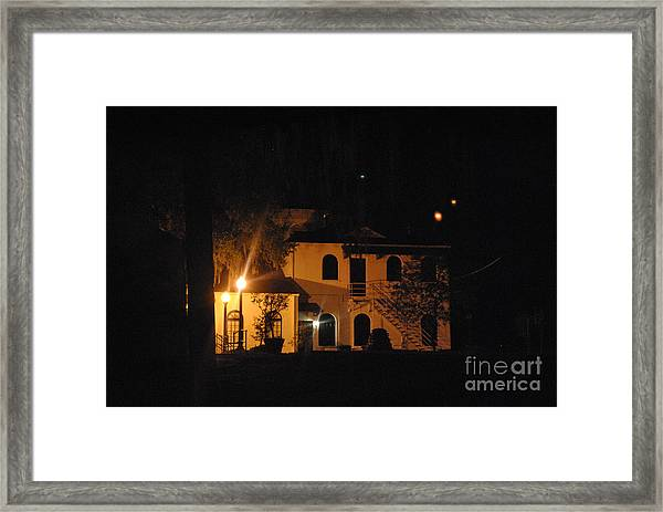 Davenport At Night Framed Print
