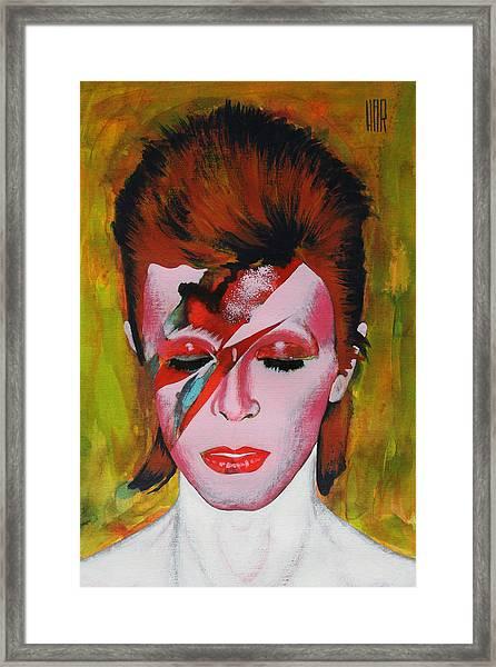David Bowie Framed Print