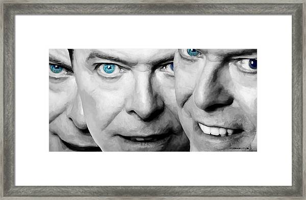David Bowie In Clip Valentine's Day - 4 Framed Print