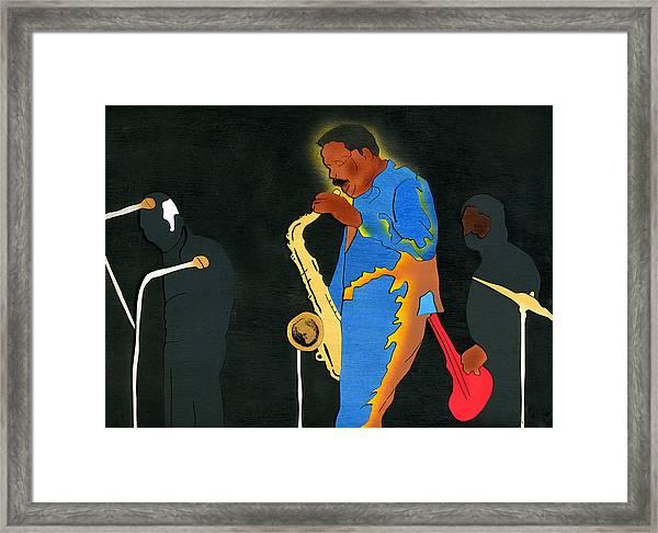David Fathead Newman Framed Print