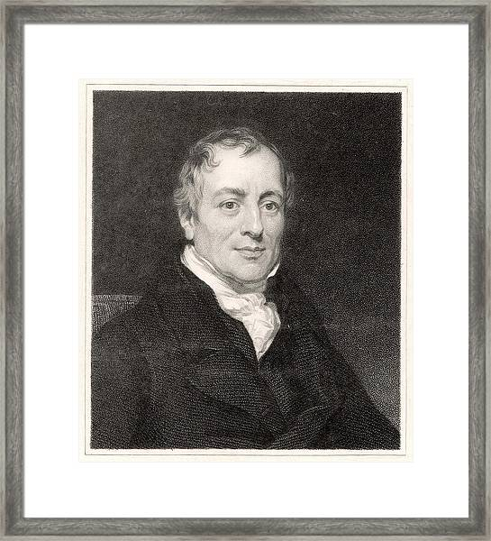 David Ricardo  Economist        Date Framed Print by Mary Evans Picture Library