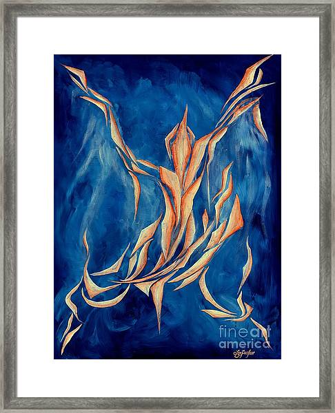 David's Angel Framed Print