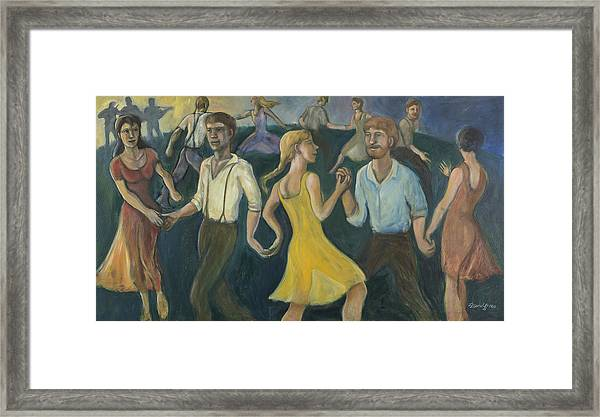 Dawn Dance Framed Print
