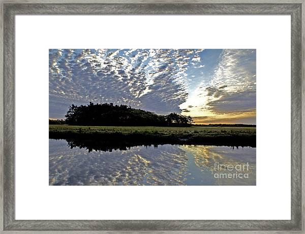 Dawn In Maine Framed Print