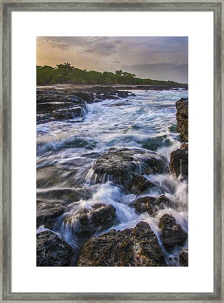 Dawn In Tamarindo Framed Print
