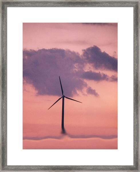 Dawn Of A New Age Framed Print