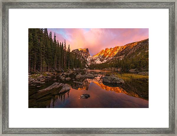Framed Print featuring the photograph Dawn Of Dreams by Dustin  LeFevre