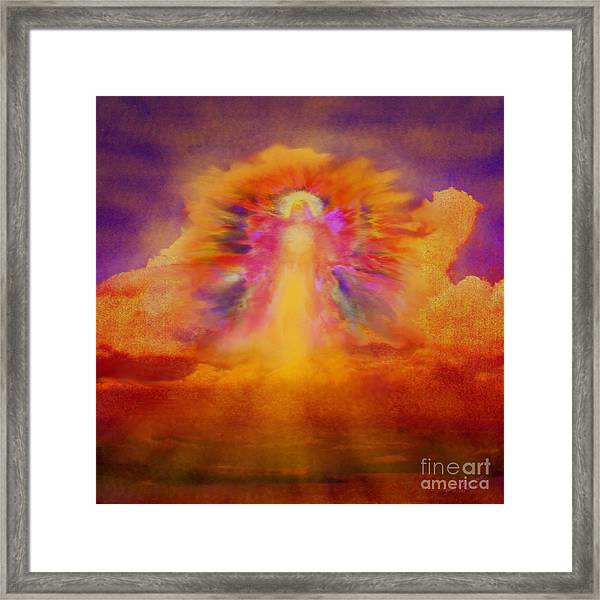 Dawn Sentinal Framed Print