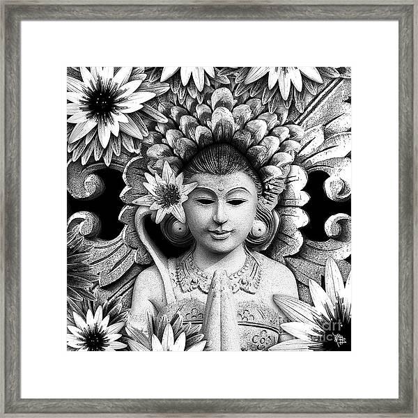 Dawning Of The Goddess Framed Print