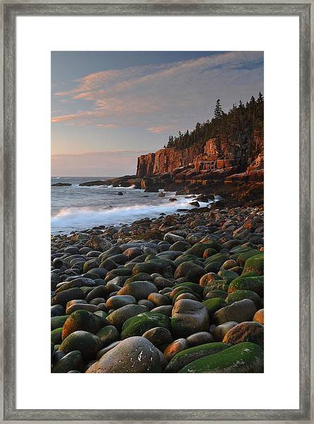 Dawn's Early Light Framed Print by Stephen  Vecchiotti