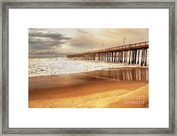 Day At The Pier Large Canvas Art, Canvas Print, Large Art, Large Wall Decor, Home Decor, Photograph Framed Print
