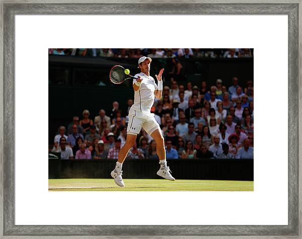 Day Eleven The Championships - Framed Print