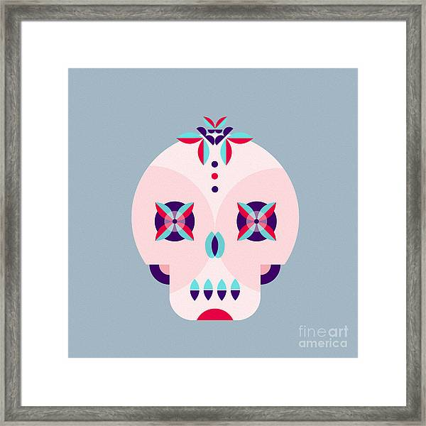 Day Of The Dead Poster Framed Print