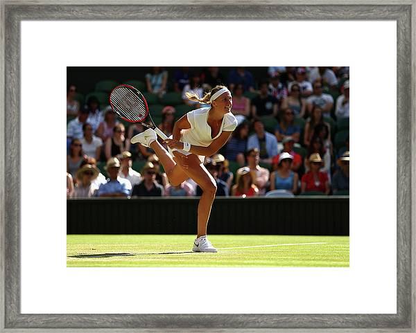 Day Six The Championships - Wimbledon Framed Print