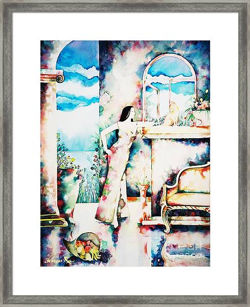 Daydreams Framed Print