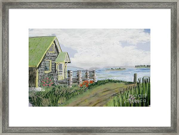 Daylillies Framed Print