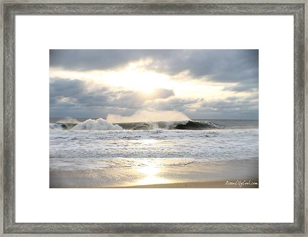 Day's Rolling Waves Framed Print