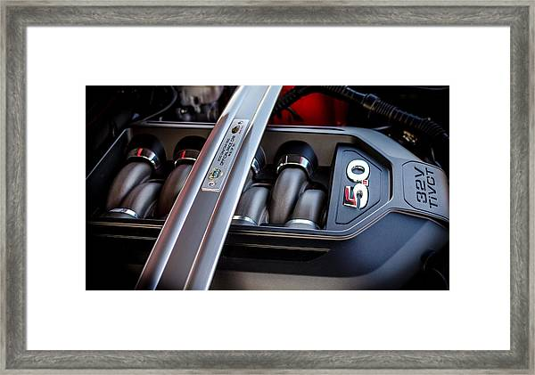 Daytona 500 Pace Car Edition Ford Mustang Framed Print