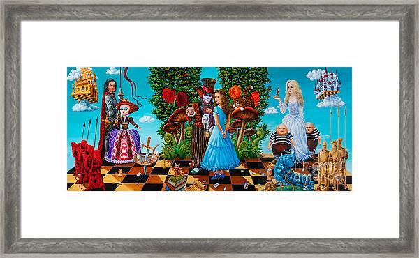 Daze Of Alice Framed Print
