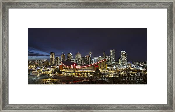Dazzled By The Light Framed Print