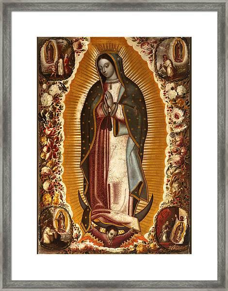 de Arellano Virgin Framed Print