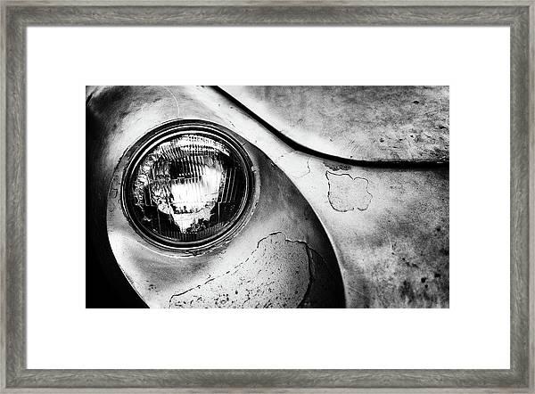 Dead Alfa R. Framed Print by J?rgen Hartlieb
