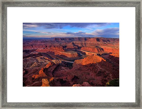 Dead Horse Point Sunrise Framed Print