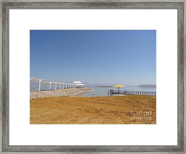 Dead Sea 1 Framed Print